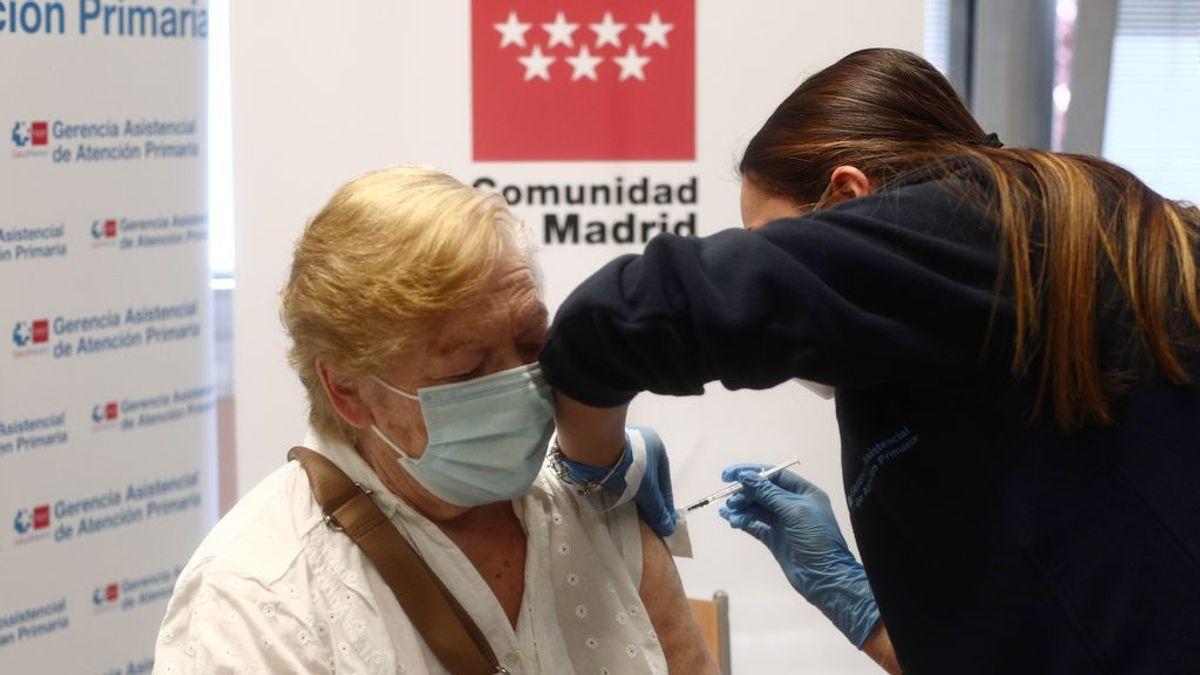 Madrid registra su récord de vacunación con 38.959 dosis administradas