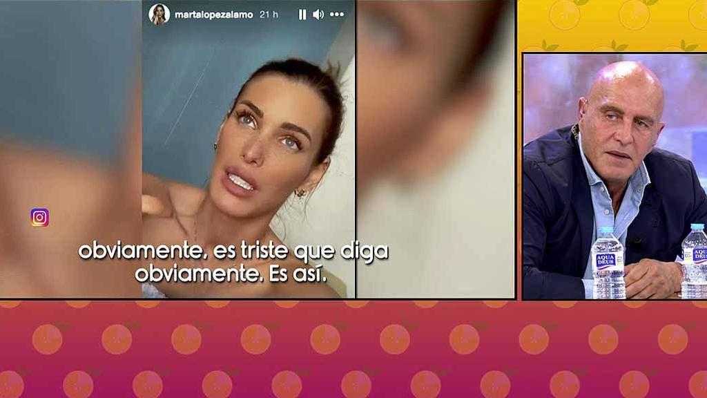 """Kiko Matamoros apoya la decisión de su novia, Marta López: """"A veces, las redes sociales son un estercolero"""""""