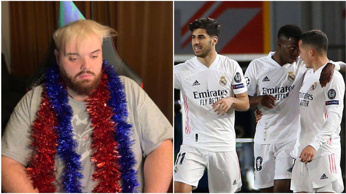 """El pronóstico de Ibai Llanos sobre el Madrid-Liverpool: """"Si acierto regalo cinco camisetas del equipo de fútbol que queráis"""""""