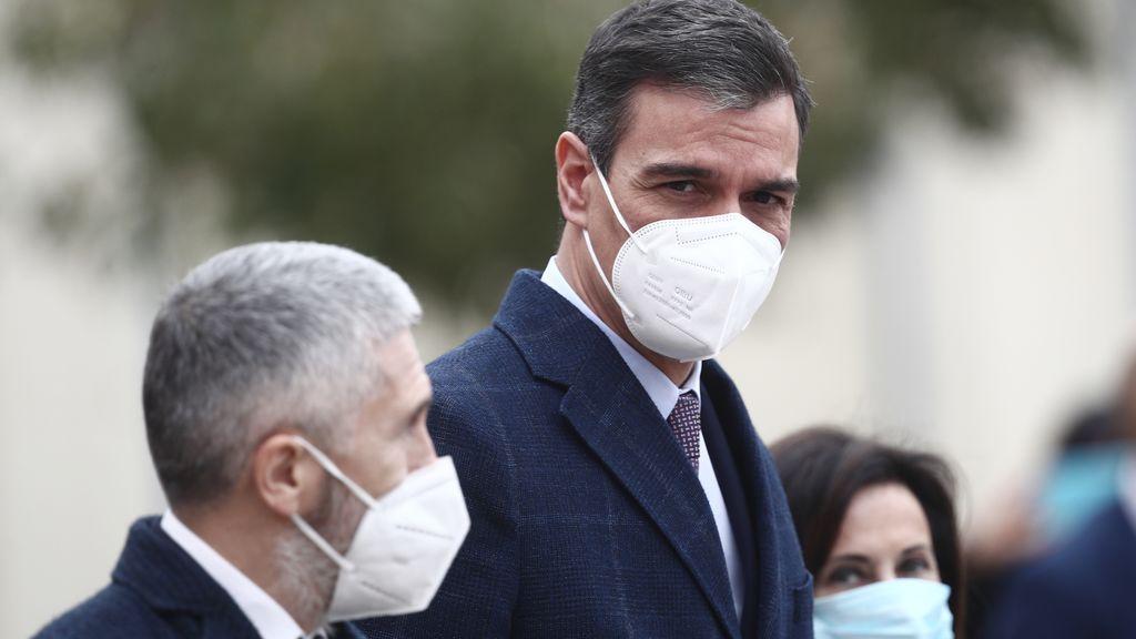 Sánchez respalda a Marlaska ante la ofensiva del PP que reclama su cese como ministro del Interior