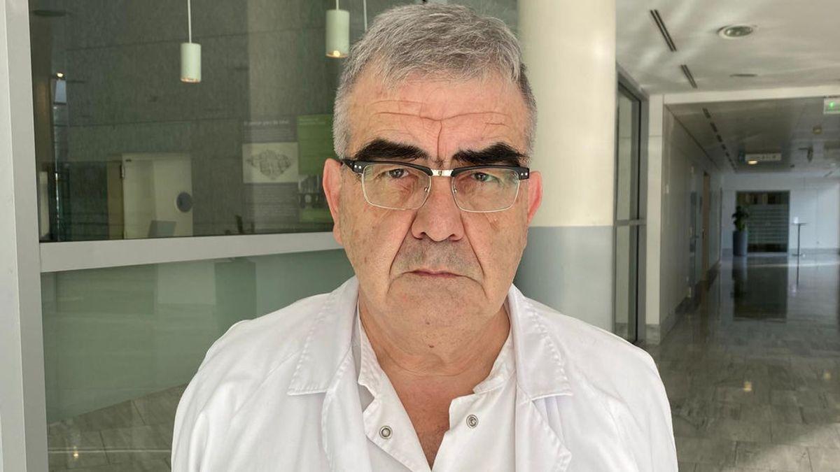 """Domingo, coordinador covid del Hospital Sant Pau: """"Veremos los efectos de la Semana Santa en unos diez días"""""""