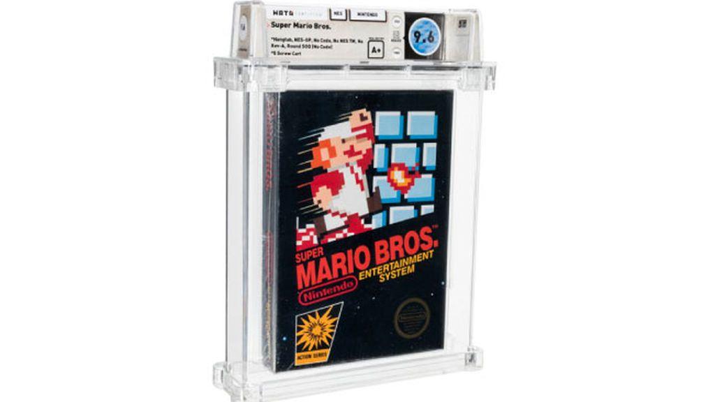El videojuego más caro de la historia se subasta por 660.000 dólares: una copia rara de Super Mario Bros.