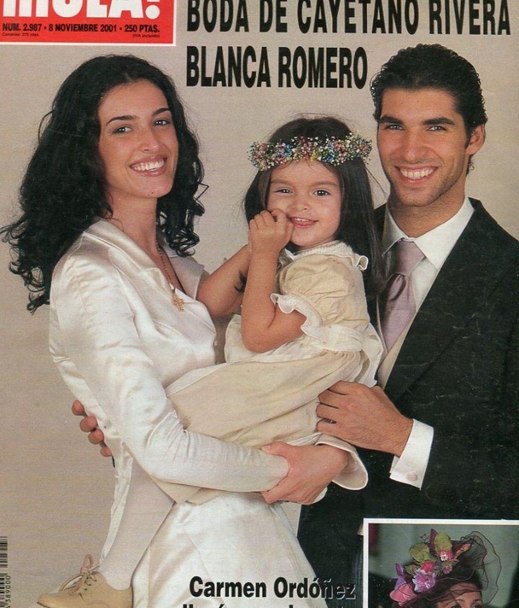 Lucía Rivera fue la gran protagonista de la boda de Blanca y Cayetano