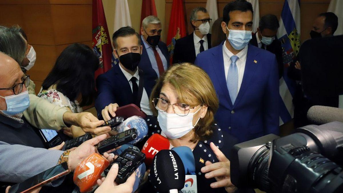 La consejera de Educación de Murcia asegura que no se vacunará contra la covid