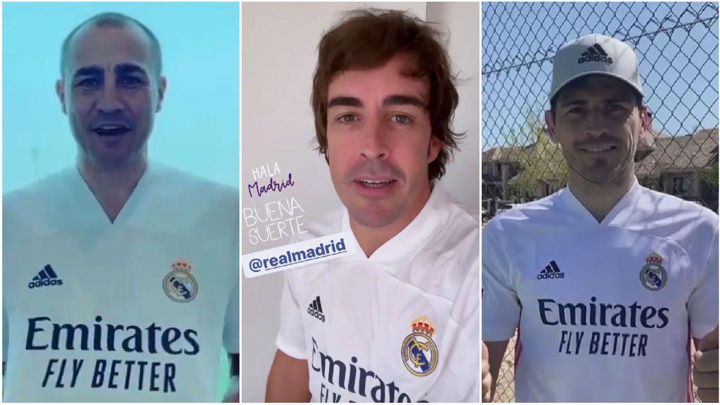 """Fernando Alonso, Cannavaro o Casillas, algunos de los deportistas que han mandado un mensaje de apoyo al Madrid antes de medirse al Liverpool: """"Toda la suerte del mundo"""""""
