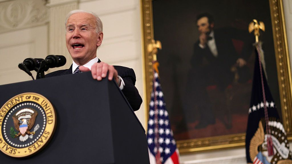 Biden anuncia que todos los adultos se podrán vacunar en Estados Unidos antes del 19 de abril
