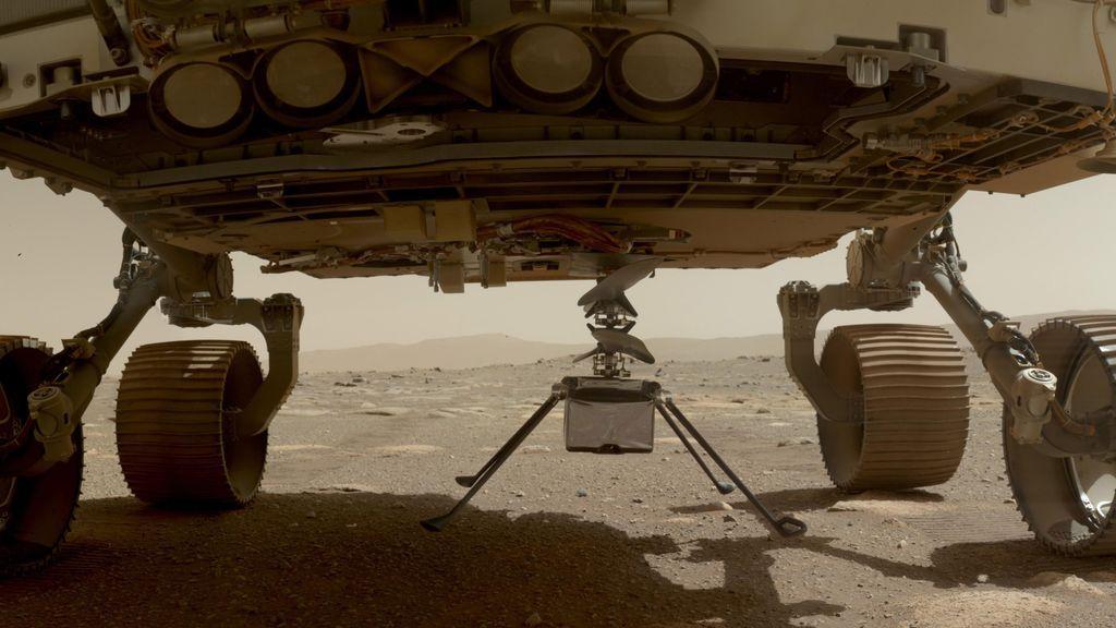 La estación española envía su primer informe meteorológico desde Marte