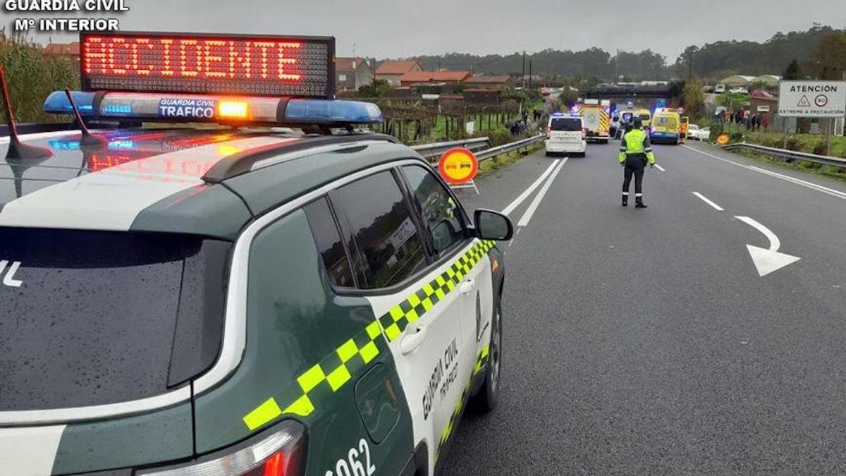 12 años de prisión para un conductor sin carné que mató a un motorista y se dio a la fuga en Ourense