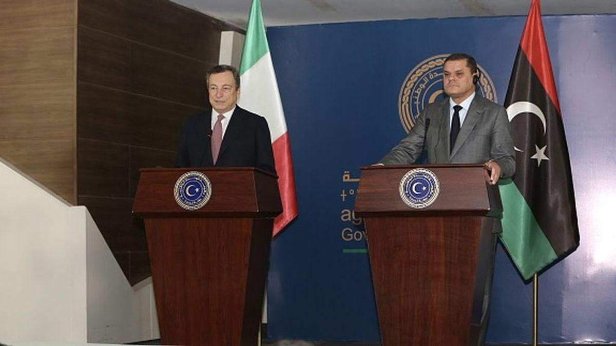 Draghi intenta recuperar la influencia italiana en Libia, ahora en manos de Turquía