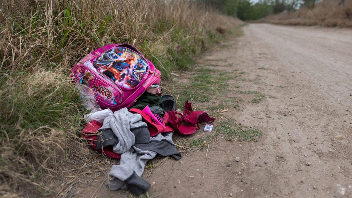 """El llanto de un niño en la frontera con Estados Unidos: """"Me dejaron tirado y no sé dónde están, tengo miedo"""""""