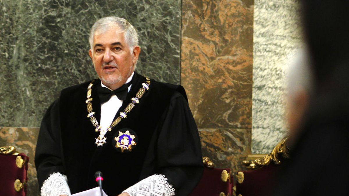 El magistrado del TC Conde Pumpido se aparta de los recursos del  'procés', recusado por Puigdemont y los condenados