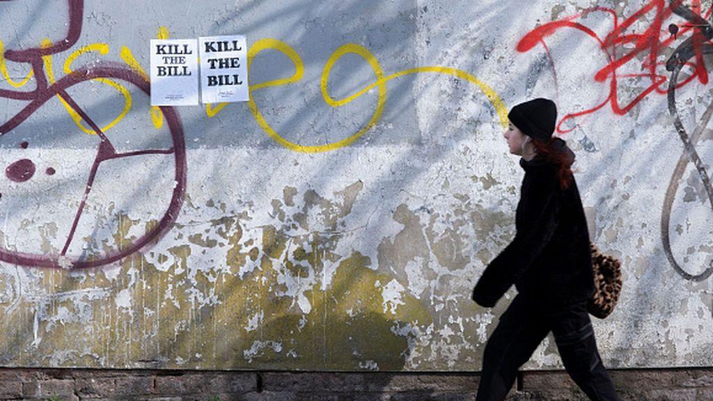 'Kill the Bill', las violentas protestas que sacuden las calles británicas