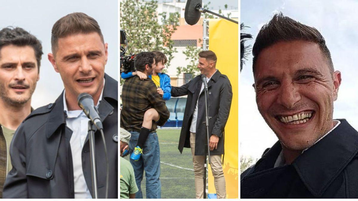 Joaquín Sánchez cumple su sueño de ser actor y graba una película: formará parte del elenco de 'Héroes de barrio'