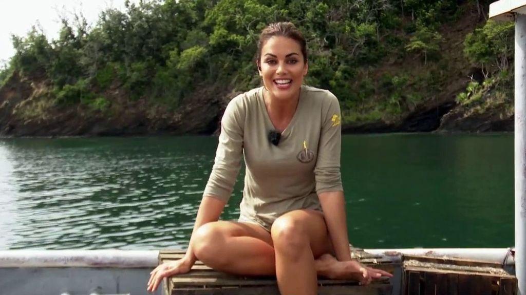 Lara Álvarez nos enseña por primera vez el barco encallado de 'Supervivientes'