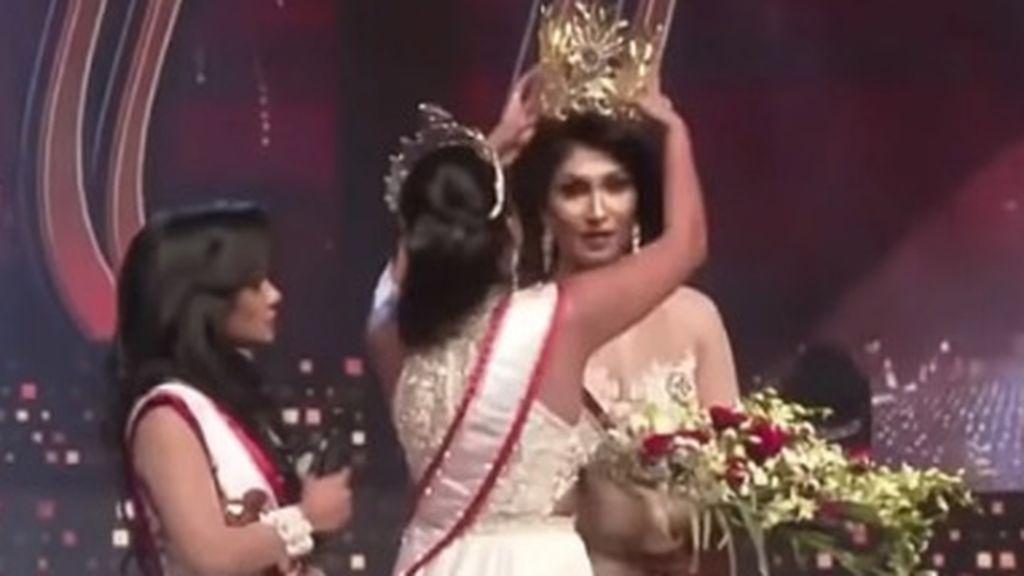 Concurso de belleza en Sri Lanka