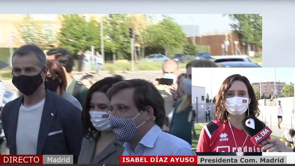 """Isabel Díaz Ayuso aclara las reuniones con Sputnik: """"Jamás pediría más vacunas para Madrid que para el resto de España"""""""