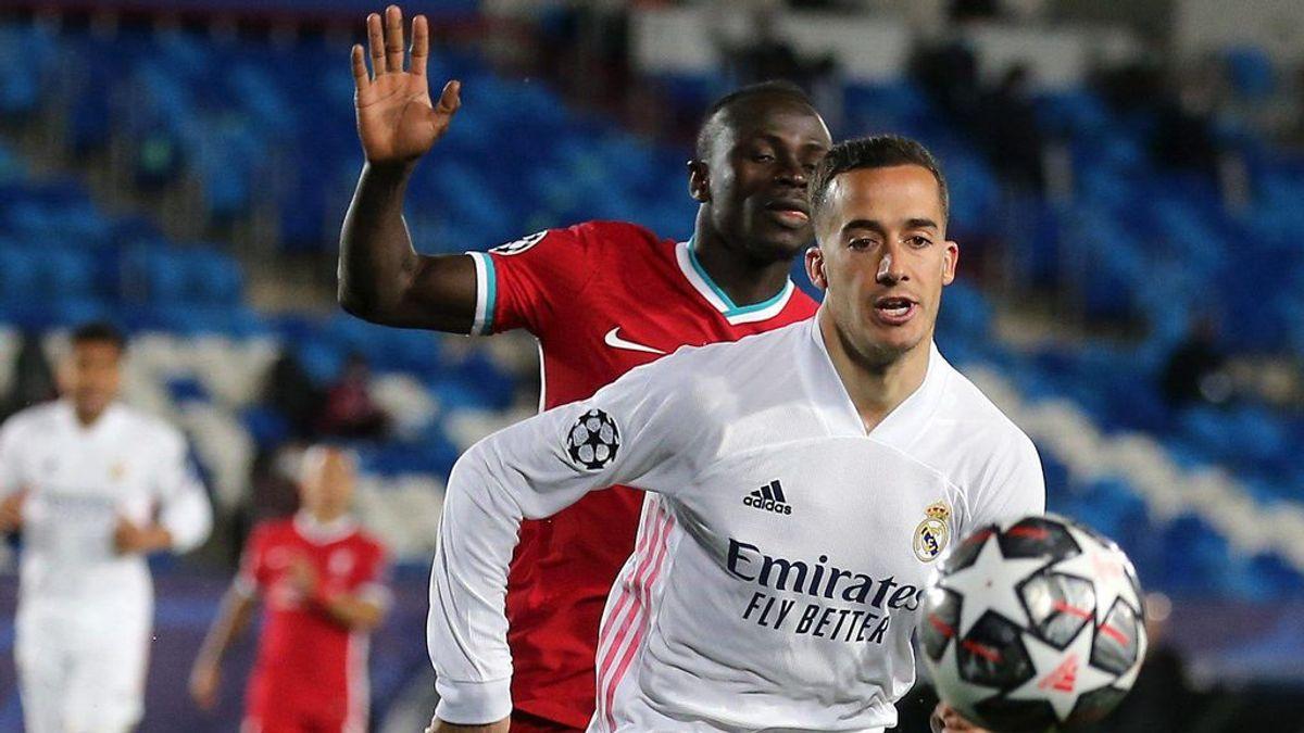 Lucas Vázquez esquiva hablar de su renovación con el Madrid.