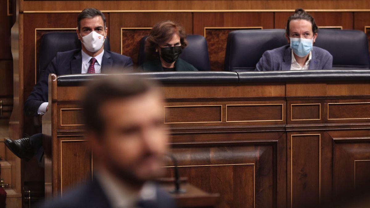 """Casado ofrece a Sánchez """"un plan b"""" para abordar el final del estado de alarma, pero el Gobierno dice que hay elementos suficientes"""