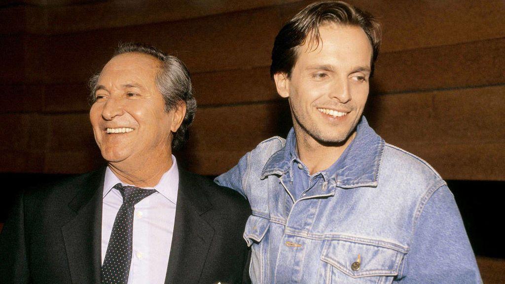 Miguel Bosé y Luis Miguel Dominguín