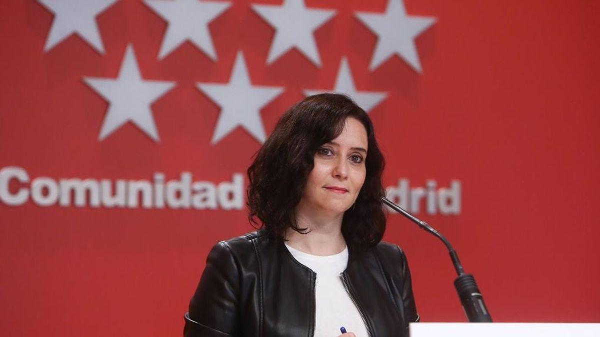 La Comunidad de Madrid continuará aplicando el toque de queda y la prohibición de reunión de no convivientes