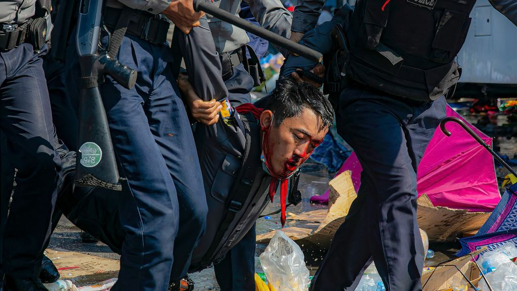 abusos birmania golpe estado