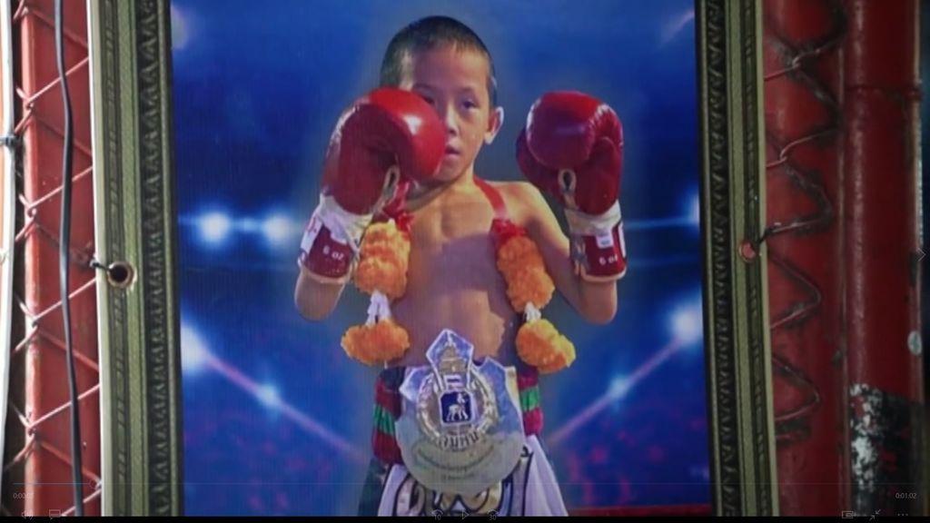 Tata, el boxeador de 9 años que mantiene a toda una familia