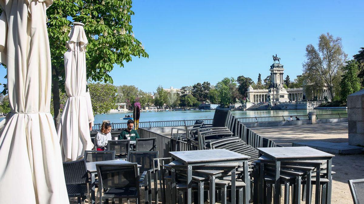 La hostelería de Madrid podrá mantener sus ampliaciones de terrazas durante todo 2021