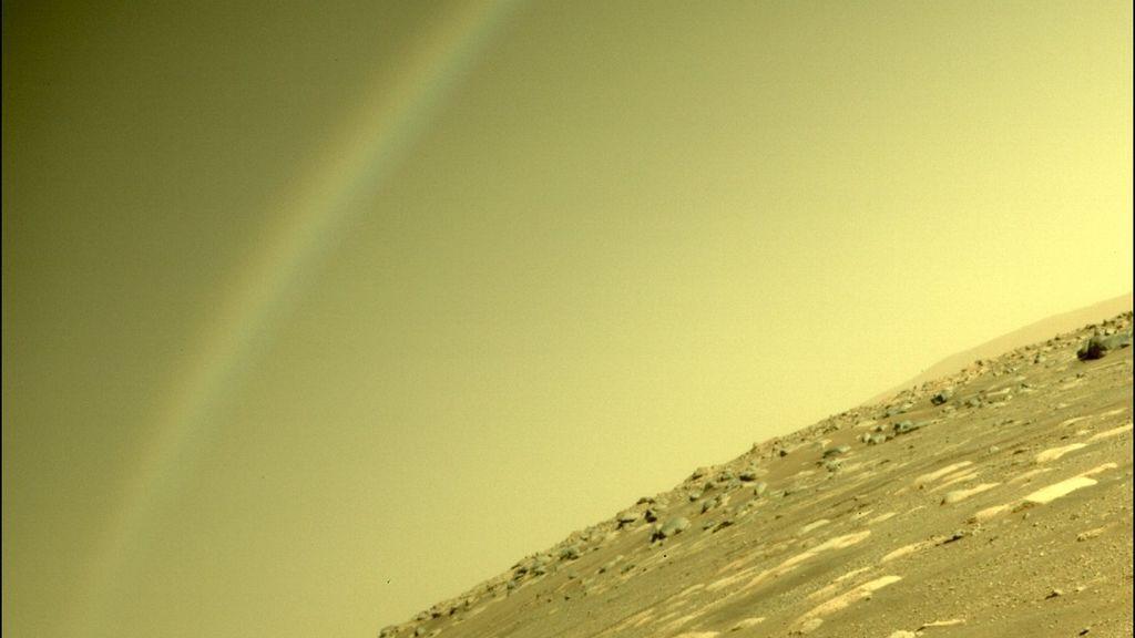 ¿Se ha formado realmente un arcoíris en Marte? Una imagen causa revuelo en las redes
