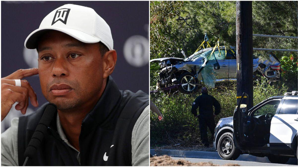 Salen a la luz las causas del accidente de Tiger Woods