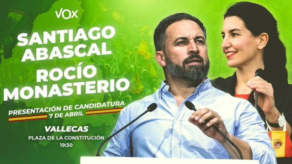Los 'bukaneros' llaman a llenar 'la Plaza Roja' de Vallecas contra el acto de campaña de Vox