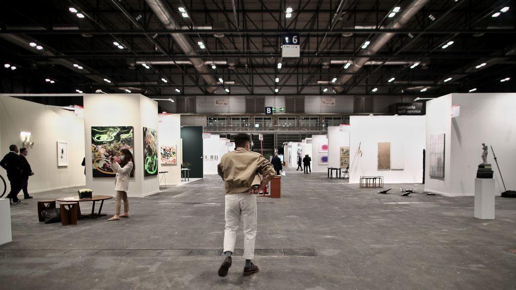 Más aire y menos aforo: así es Estampa, la primera feria de arte en pandemia
