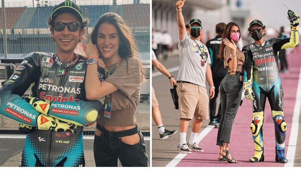 """La denuncia pública de Francesca Sofía, novia de Rossi: """"Es difícil trabajar en el paddock cuando te miran y te tocan el culo"""""""