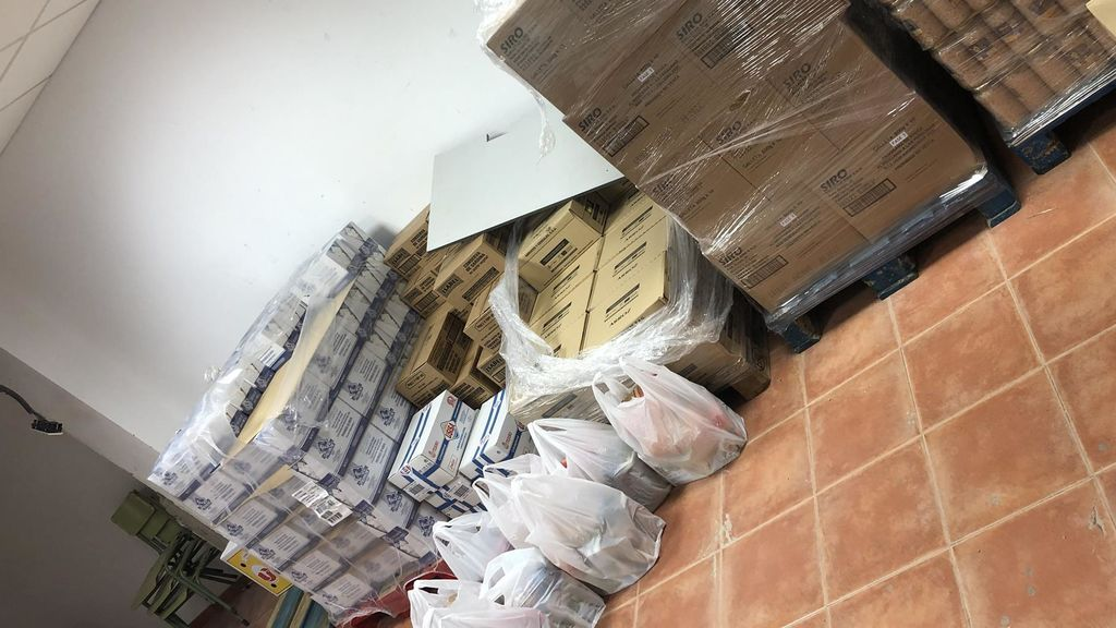 Dos detenidos en Almonte por supuesta estafa en el reparto de alimentos a desfavorecidos