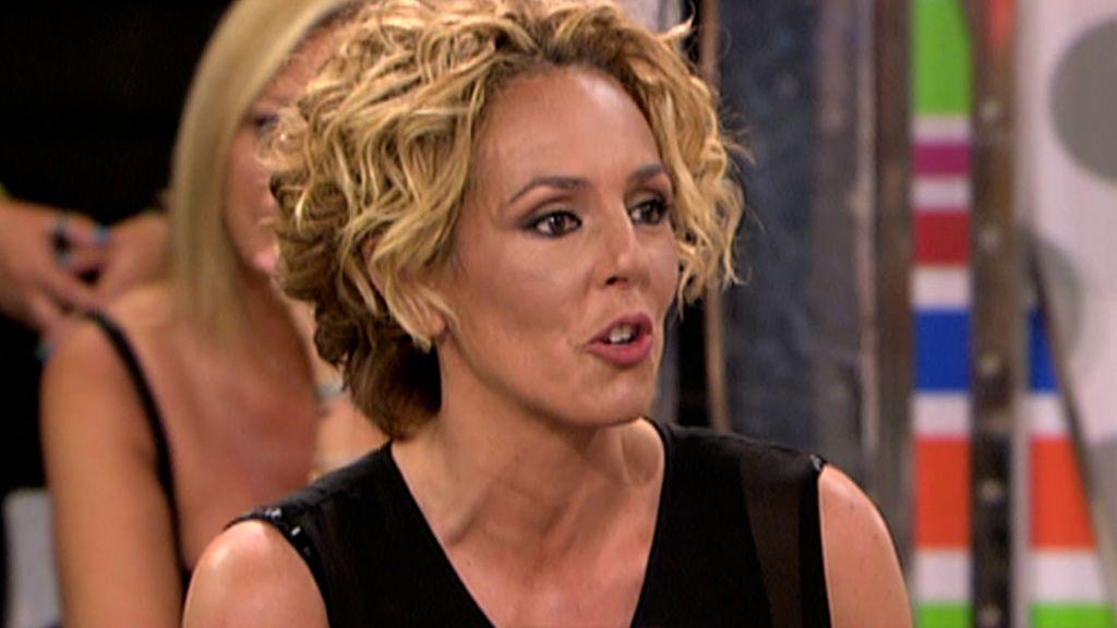 La primera vez de Rocío Carrasco en 'Sábado Deluxe'