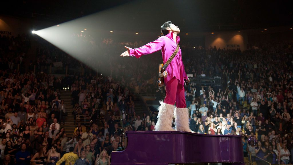 GettyImages-Prince en el estadio The Forum
