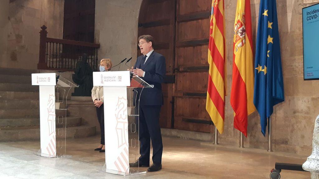 """Ximo Puig amplia las restricciones 15 días más y asegura que para los valencianos """"lo peor ha pasado"""""""