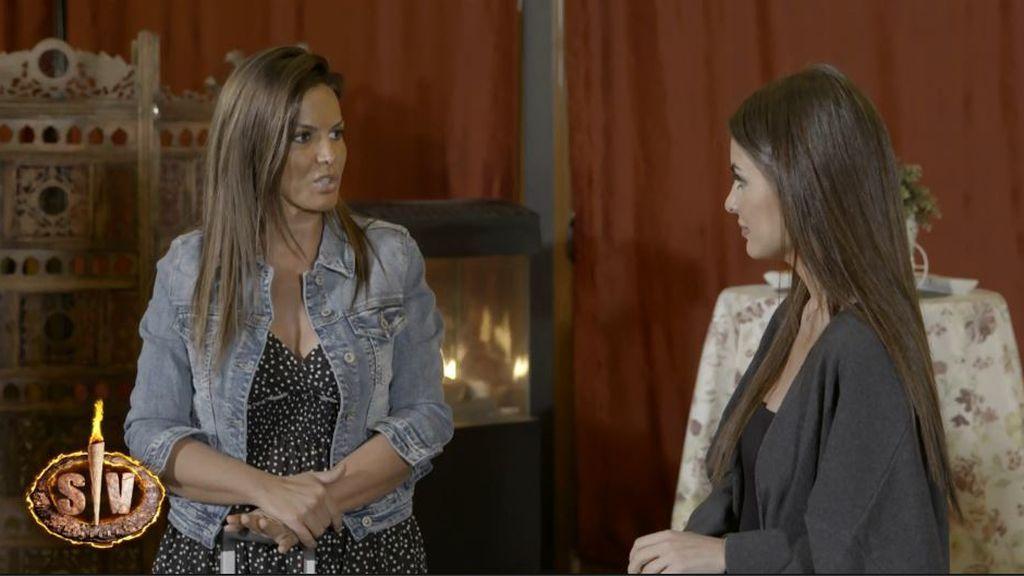 """El tenso encontronazo entre Marta López y Alexia Rivas: """"No digas mentiras"""""""