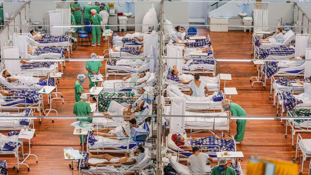Brasil suma 3.829 muertes por covid-19 y supera las 340.000 en la pandemia