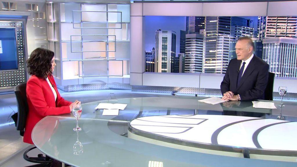 Entrevista íntegra a Isabel Díaz Ayuso