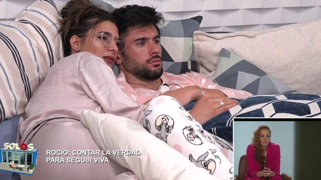 """Bea y Dani G. apoyan a Rocío Carrasco desde el pisito de 'Solos': """"Estaba anulada"""""""