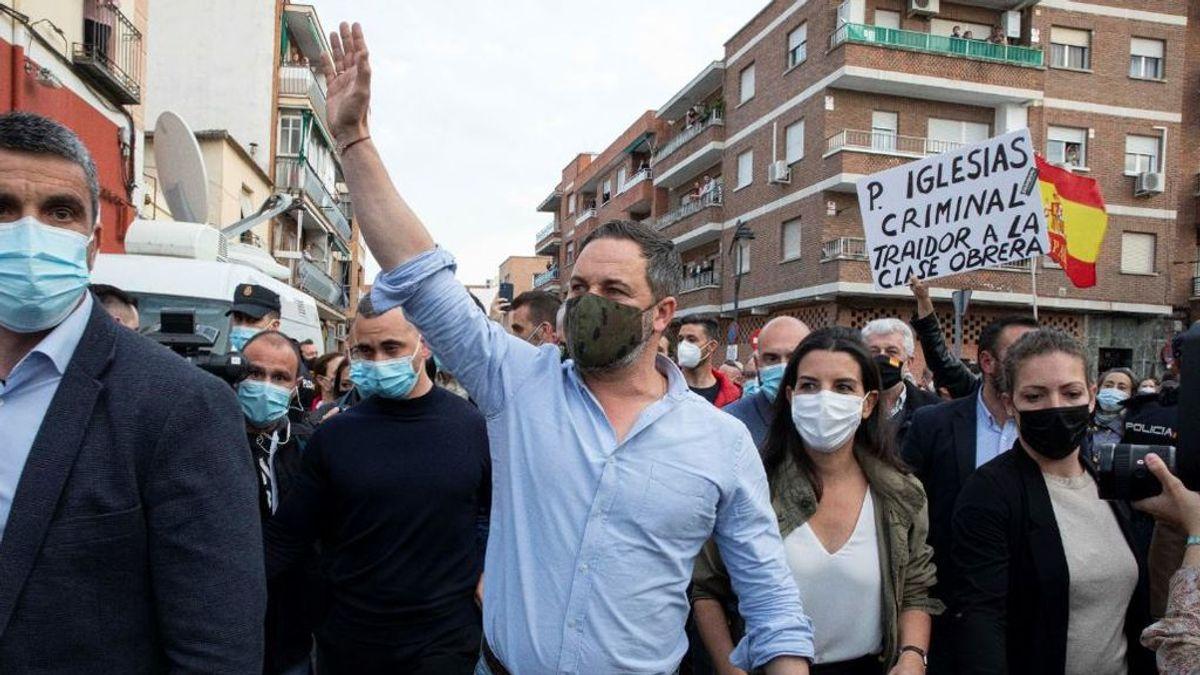 La razón por la que Abascal se va de gira al 'cinturón rojo' de Madrid: crece más en los barrios obreros que en el distrito de Salamanca