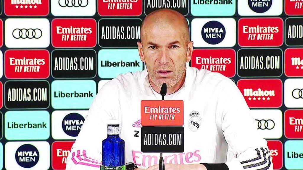 """Zidane, antes del Clásico: """"Messi que se quede en el Barcelona, está bien ahí"""""""