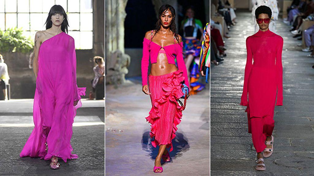 Propuestas de Valentino, Versace y Boss