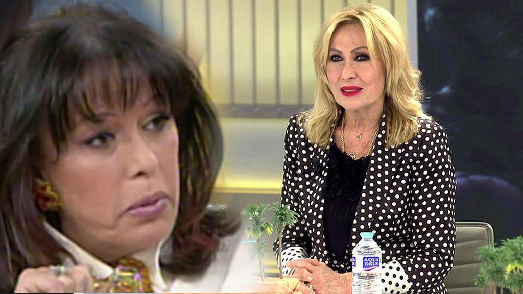 """Rosa Benito, sobre el episodio del ojo morado de Masiel: """"Se quedó sola"""""""
