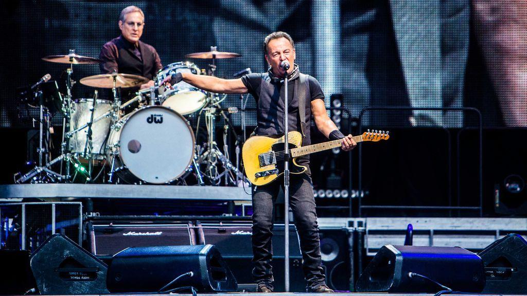 Bruce Springsteen: El Jefe deslumbró en el Vicente Calderón una calurosa tarde de agosto de 1988
