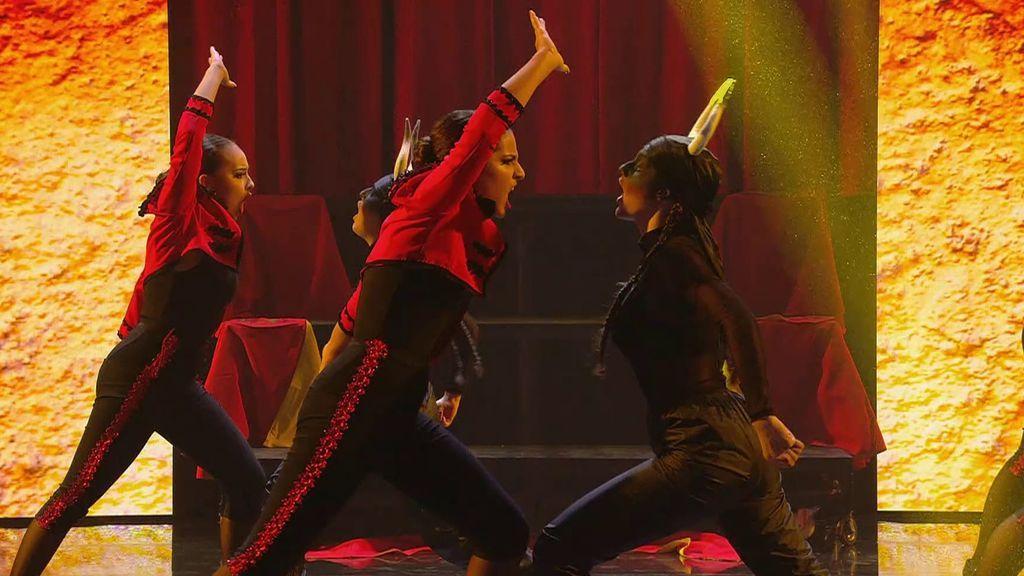 La actuación de Ukabox en la semifinal de 'Got Talent 2021'