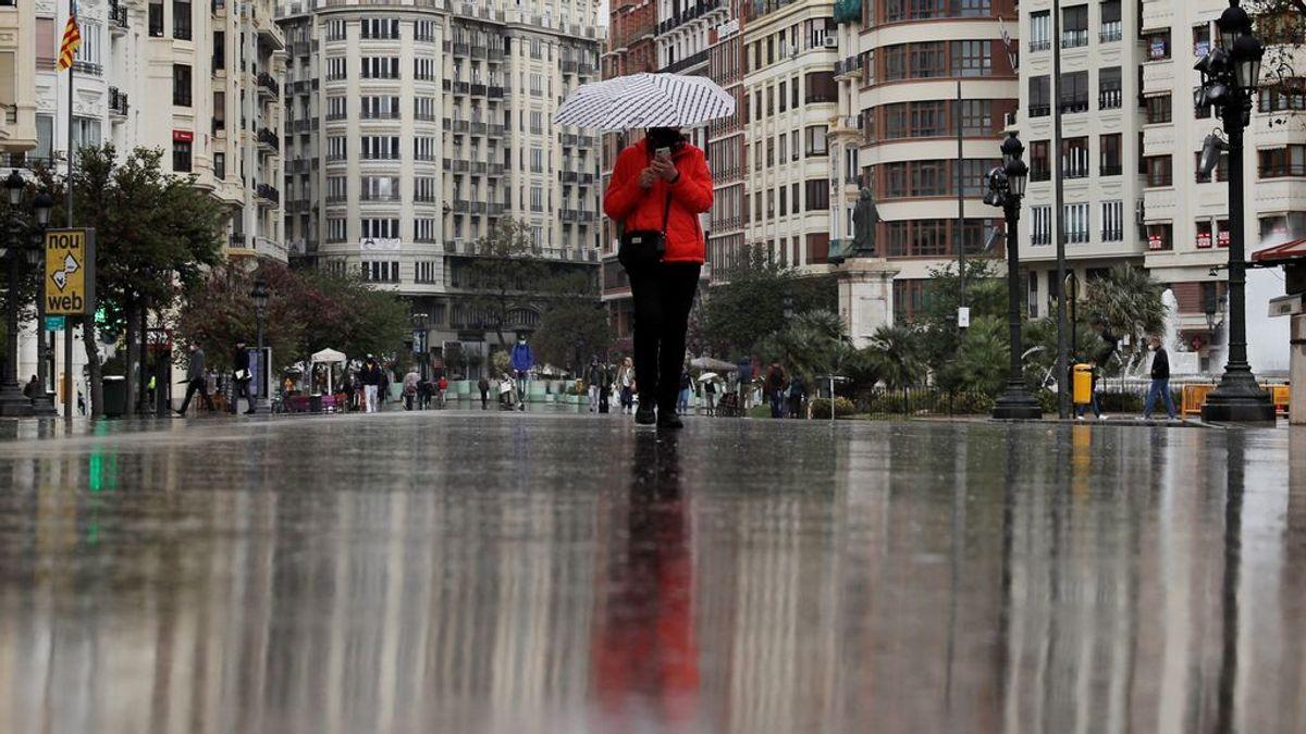 Chubascos y tormentas serán protagonistas durante el fin de semana en buena parte de España