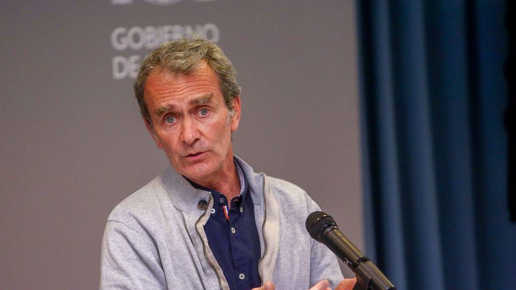 En directo: rueda de prensa de Fernando Simón