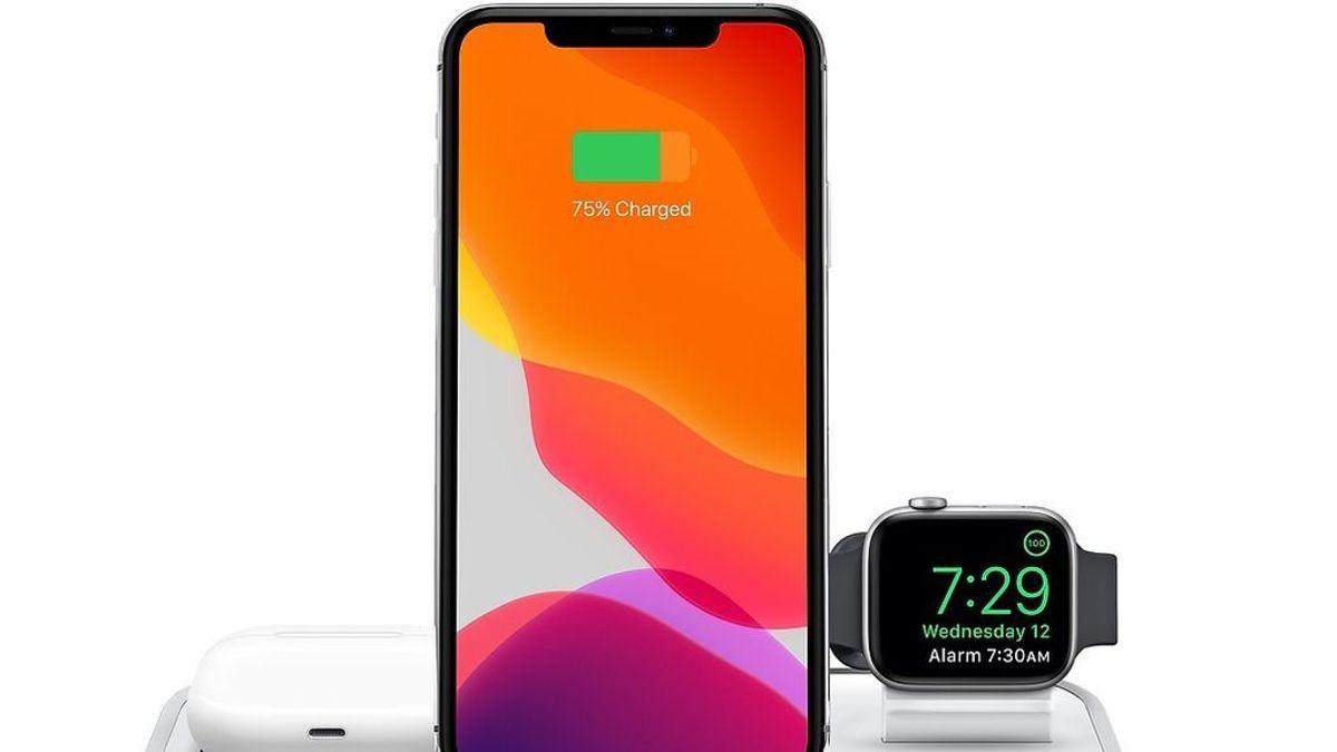 Apple diseña una patente para recomendar la carga de los iPhone antes de que se queden sin batería