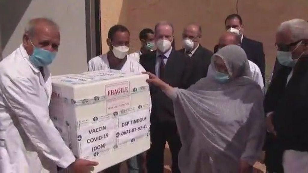 5.000 vacunas para refugiados saharauis en Tinduf